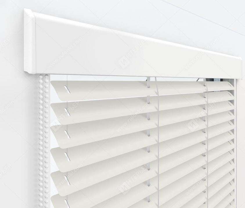 Жалюзи Изолайт 25 мм на пластиковые окна - цвет 84