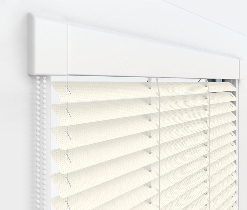 Жалюзи Изотра 25 мм на пластиковые окна - цвет 23 перфорированный
