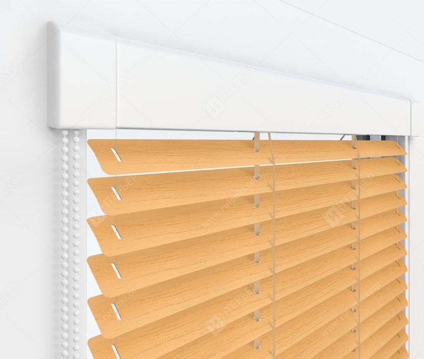 Жалюзи Изотра 25 мм на пластиковые окна - цвет 772-093